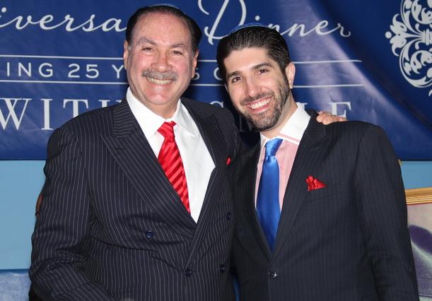 Howard and Jordan Fensterman honorees at Chabad
