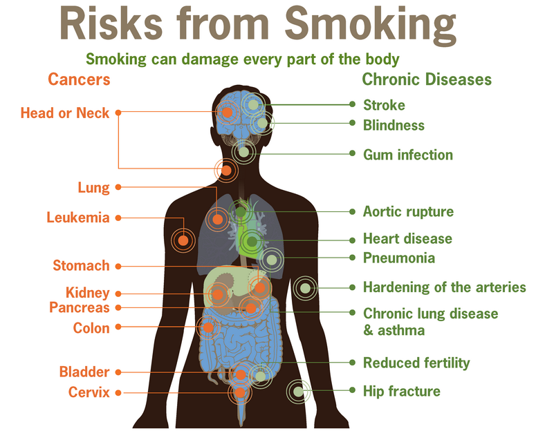 Smoking and Cancer Risks