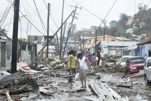 Hurricane Maria destruction