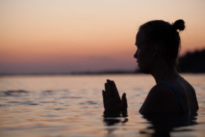 Meditation can calm the mind and body